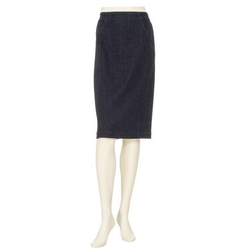 フォーティーナインアヴェニュージュンコシマダ 49AV.ジュンコシマダデニムタイトスカート(スカート ファッション)の画像