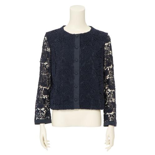 フォーティーナインアヴェニュージュンコシマダ 49AV.ジュンコシマダケミカルレースジャケット(コート ファッション)の画像