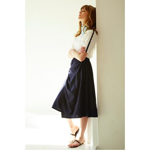ルード マリクレール ルード マリクレールノットデザインドレープスカート(スカート ファッション)の画像