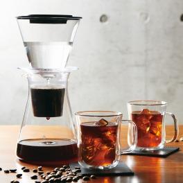 イワキ ウォータードリップ コーヒーサーバー&エアマグ2個セット