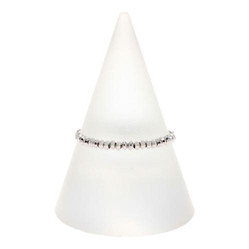 プレシアプラチナ プレシア・プラチナプラチナ850ダイヤモンドカットパーツスライドチェーンリング(プラチナ リング ジュエリー)の画像