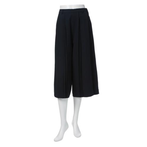 フレア フレアプリーツデザインガウチョパンツ(パンツ ファッション)の画像