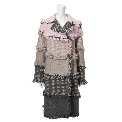 ペ ドゥ シュンボ ペ ドゥ シュンボショールカラーロングコート(コート ファッション)の画像