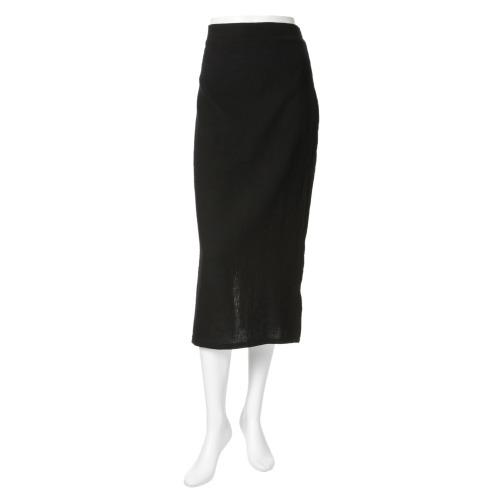 コラード・マンソン コラード マンソン異素材コンビネーションセミタイトスカート(スカート ファッション)の画像