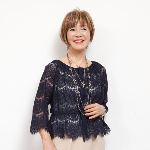 ミナコ ヨコモリ ミナコ★ヨコモリレースブラウスジャケット(ジャケット ファッション)の画像