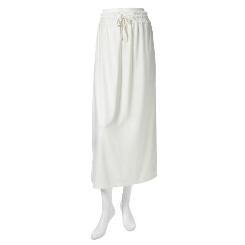 プールトレファム プールトレファムミニ裏毛ロングスカート(スカート ファッション)の画像