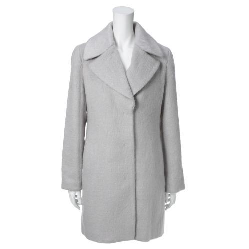 ラウラ フラネ ラウラ フラネダウンライナー付シャギーコート(コート ファッション)の画像