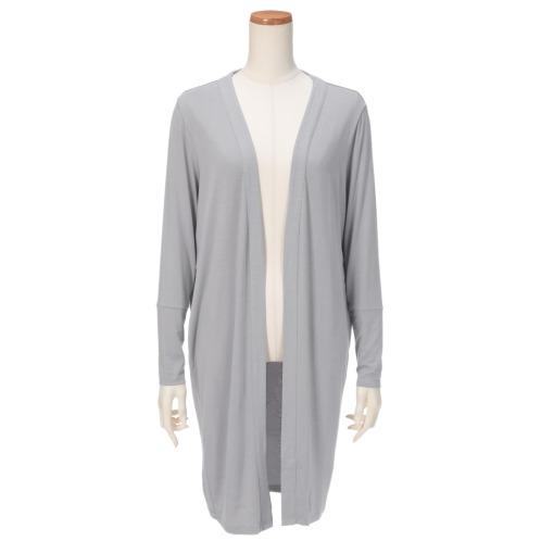 チャーリー チャーリーストレッチジャージーロングカーディガン(セーター ファッション)の画像