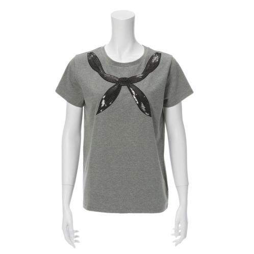 シュガーローズ シュガーローズリボンモティーフスパンコール刺しゅう半袖プルオーバー(トップス ファッション)の画像
