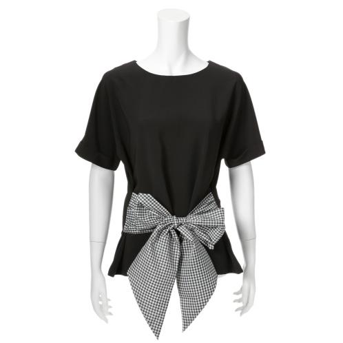 マダムミーナ マダムミーナビッグリボンアクセントプルオーバー(トップス ファッション)の画像