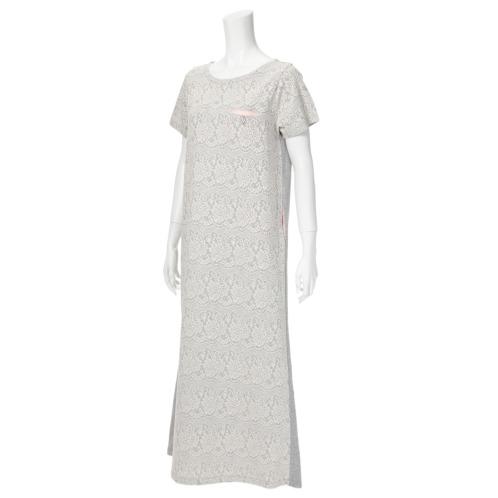 マダムミーナ マダムミーナ接結ジャガード切替マキシワンピース(トップス ファッション)の画像