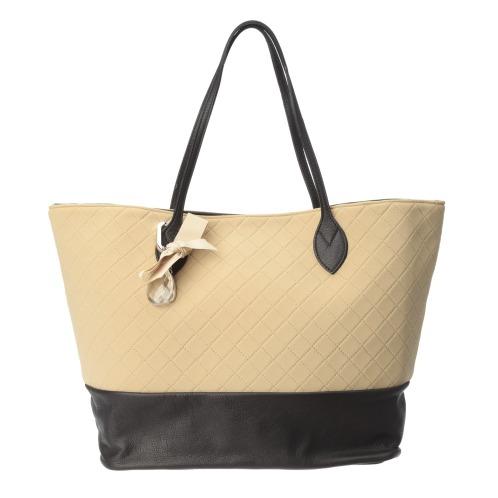 コニー プチコニーチャーム付異素材切替キルティングバッグ(その他 ファッション)の画像