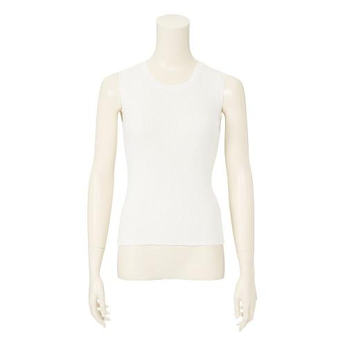 デミルクス ビームス デミルクス ビームスワイドリブノースリーブプルオーバー(セーター ファッション)の画像