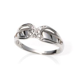 エムイー・ブリランテ 甲府で創業80年 プラチナ900 ダイヤモンドアクセント クロスデザインリング