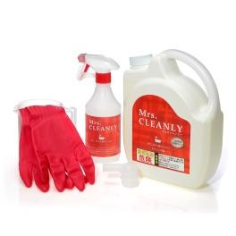 ミセスクレンリー 除菌もできるジェルタイプの洗浄剤 カビ・ヌメリ用クリーナー <特別増量セット2200ml>