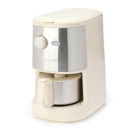 ビタントニオ ミル内蔵で豆から挽ける! 挽きたて・淹れたての 薫り高い本格コーヒーを ご自宅で♪ 全自動コーヒーメーカー