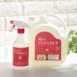 <2リットル> ミセスクレンリー 除菌もできる ジェルタイプの洗浄剤 カビ・ヌメリ用クリーナー スペシャルセット