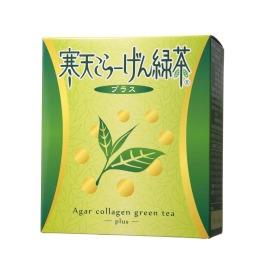 """おいしい美容茶で自然に満腹感! ダイエットサポート 新""""寒天こらーげん緑茶 プラス"""""""