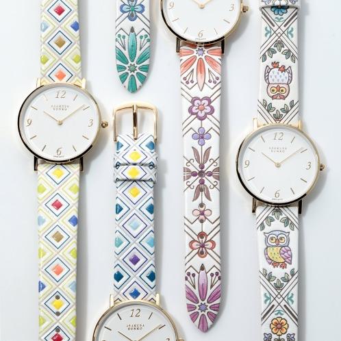 浅草文庫着せ替え腕時計