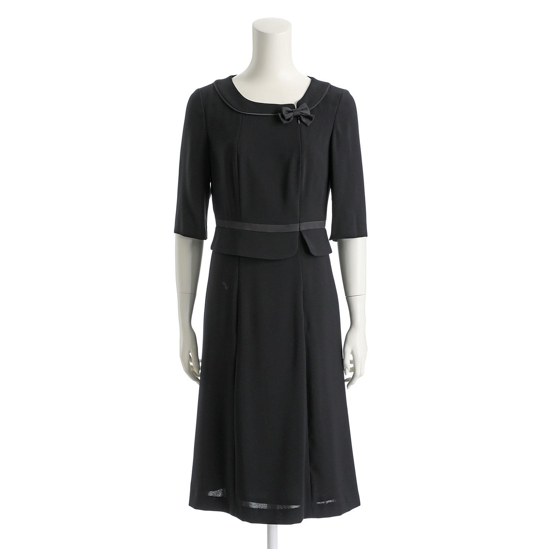 b16ba2781f0a7 セルニーナ ブラックフォーマル 二重織 アンサンブル ファッション ...