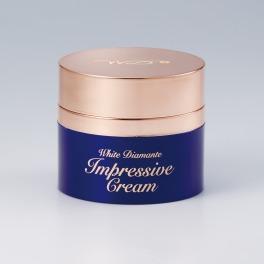 ホワイトディアマンテインプレッシブクリーム 先端の潤いハリ美肌へ導く 美容クリーム
