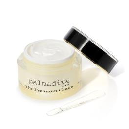 パルマディーバ 国産ヒト由来幹細胞エキス配合 先進美容成分で潤い素肌! ザ プレミアムクリーム (保湿美容液クリーム)