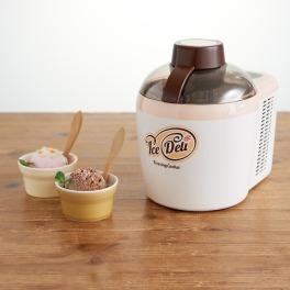 """ハイアール おいしいアイスクリームが冷凍庫要らずで簡単に♪ フリージング・クッカー """"アイスデリ"""""""