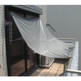 マサ 風通しが良く取り付け簡単! 遮熱クールアップシェード <180×180cm>