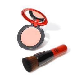 江原道 自然な立体感演出のチーク ふわっと色づくピンク色 UV ミネラル クリーム ブラッシュ <201ピュア> 特別セット