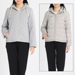 元町ゼラール リバーシブル 高機能中綿入りジャケット