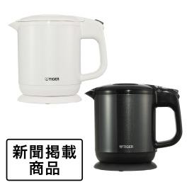 """タイガー 蒸気レス 電気ケトル """"わく子"""" <0.6リットル>"""