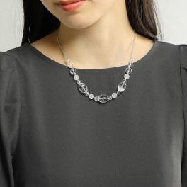 貴煌 天然水晶 デザインネックレス