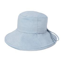 ベル・モード UVカット・遮光・遮熱 播州織の 涼やかなクローシュ