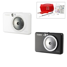 キヤノン カメラ機能付 ミニフォトプリンター iNSPiC (インスピック) ZV−123 特別セット