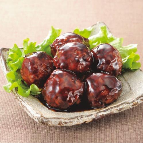 <10袋> 米久の肉団子 本格派の黒酢ダレ