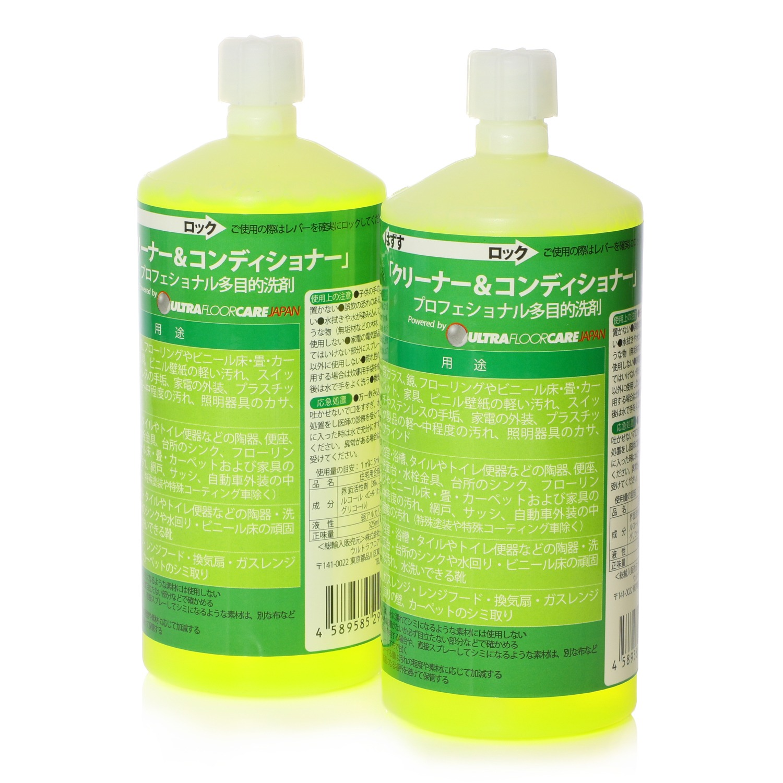 ウルトラフロアケア 多目的洗剤 クリーナー コンディショナー 付け替え用カートリッジ 2本セット ショップチャンネル