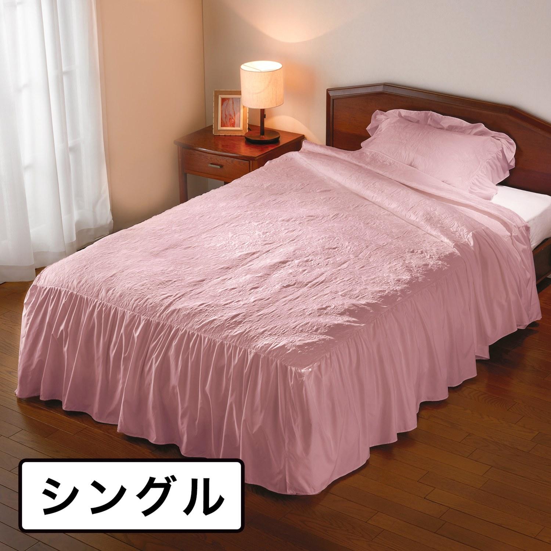 カバー ベッド 高級ベッドカバーで寝室を上品に彩る|寝具一覧